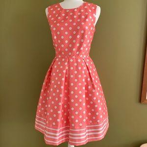 Liz Claiborne Polka Dot Dress